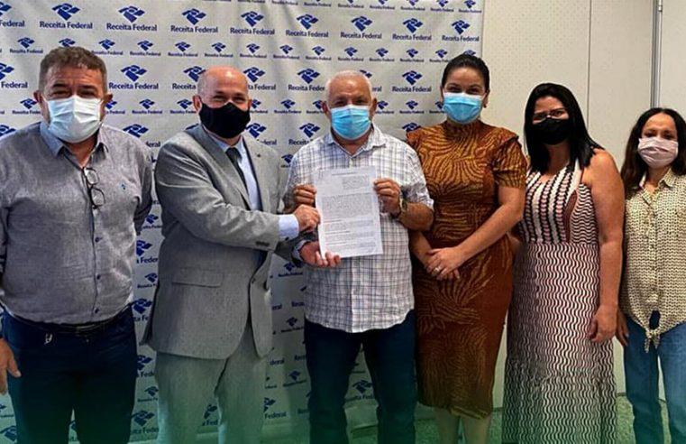 Prefeitura de Bragança assina acordo de cooperação técnica com a Receita Federal.