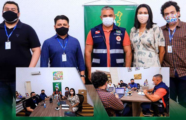 Equipe do Tribunal de Contas dos Municípios visita Bragança.