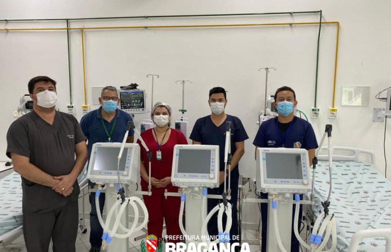 Prefeitura de Bragança recebe equipamentos do Ministério da Saúde.
