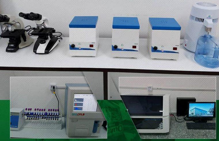 Novos equipamentos para o Laboratório da SEMUSB.