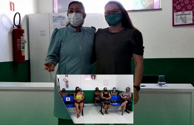 Coordenadoria Municipal Da Mulher realiza palestra no Centro de Atenção á Saúde da Mulher (CASM).