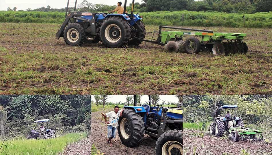 Mecanização Agrícola das Comunidades do Anoirá Mirim, Jarana, Tauarí, Urupiuna e Chaú.