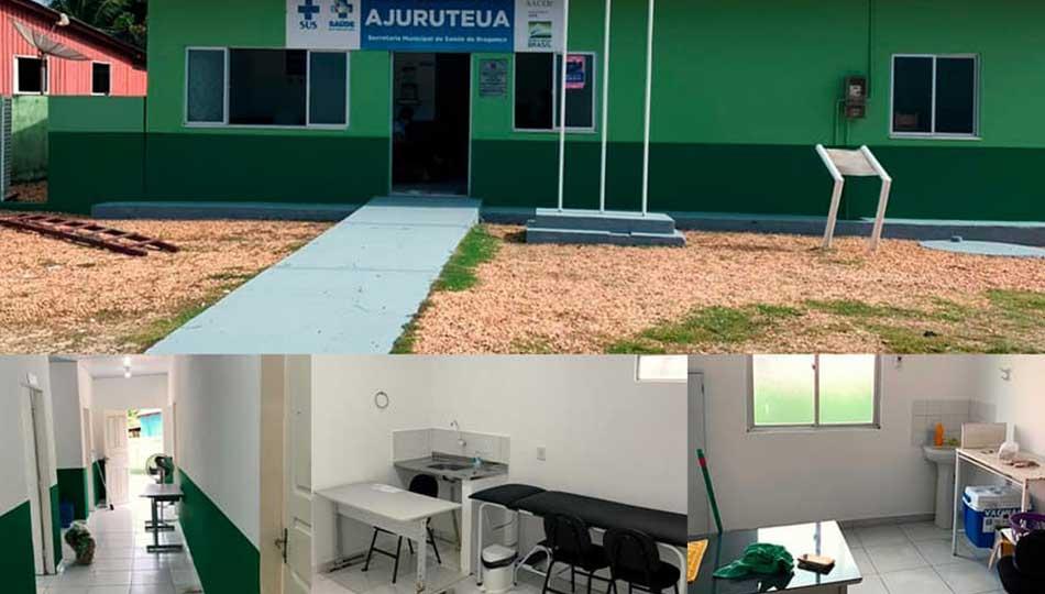 Unidade Básica De Saúde Da Praia De Ajuruteua.