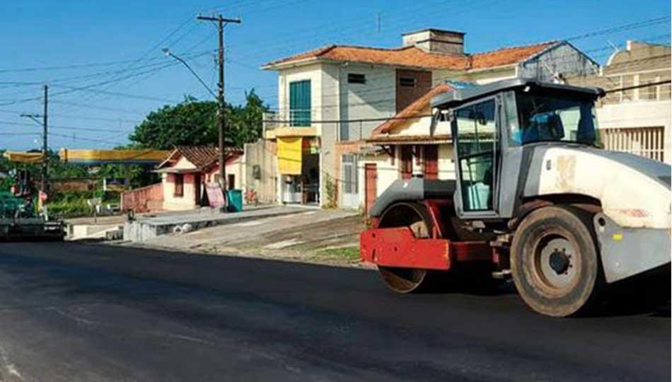 Recapeamento da avenida Cônego Clementino.