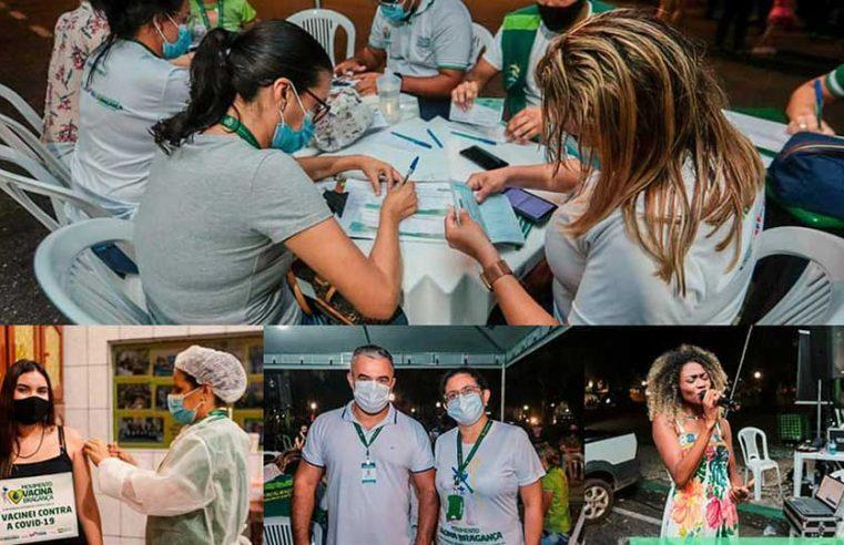 Imunização para pessoas de 18 e 19 anos.