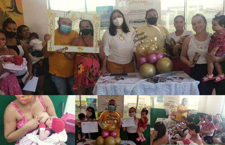 Campanha Agosto Dourado, na Unidade Básica de Saúde (UBS)/Acarpará