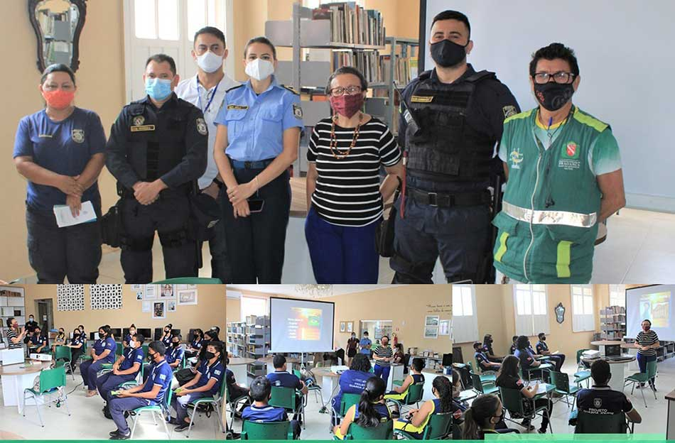 OFICINA DE EDUCAÇÃO PATRIMONIAL PARA OS ADOLESCENTES DO PROJETO  GUARDA JOVEM.