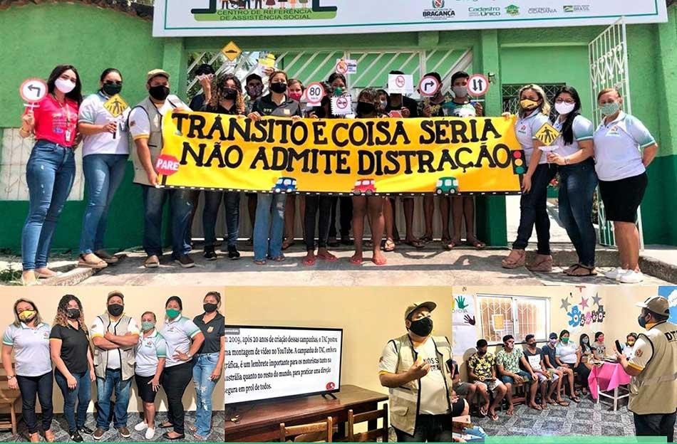 PALESTRA EDUCATTIVA COM OS AGENTES DO DEMUTRAN PARA OS ADOLESCENTES (SCFV).
