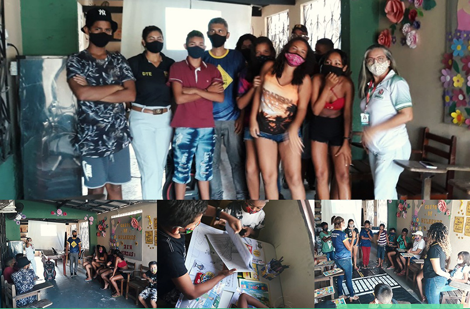 PALESTRA COM A EQUIPE DE EDUCAÇÃO DO TRÂNSITO (DEMUTRAN).