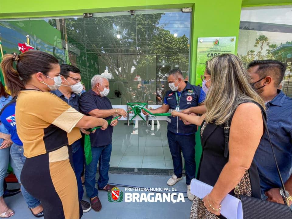 Inauguração do primeiro CAPS I da região dos Caetés.