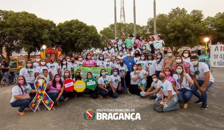 Ação no dia Nacional de luta da Pessoa com Deficiência.