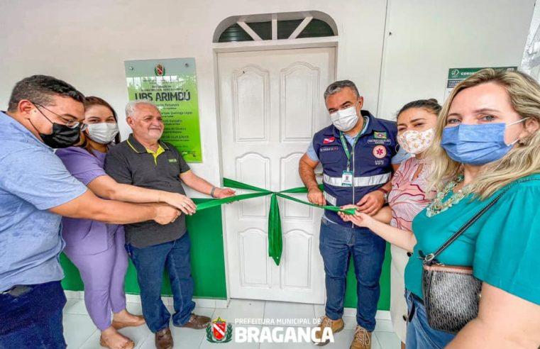 Prefeitura de Bragança entrega mais uma Unidade Básica de Saúde (UBS).