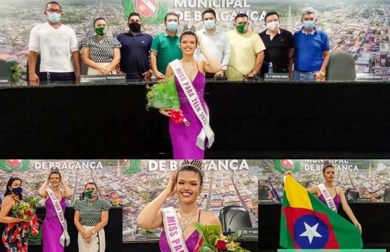 Bragantina eleita Miss Pará Teen.