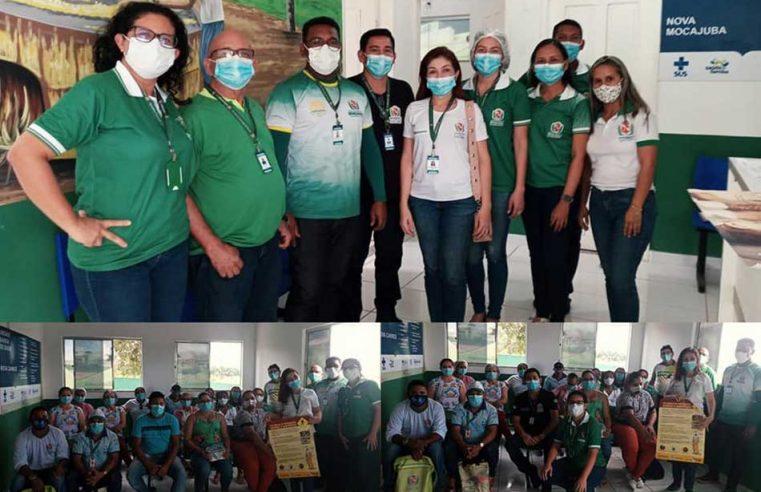 Ação com gerências de Vigilância em Saúde do Trabalhador, em Vigilância Ambiental e Imunização.