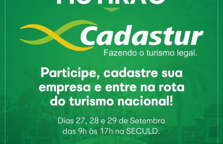 Mutirão de cadastro de bares, restaurantes e similares no CADASTUR.